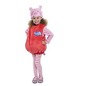 Other - NWT Toddler Peppa Pig Bubble Dress Costume
